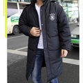 winter sportswear cotton coat mens football training warm down soccer jacket