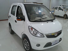 smart cheaper electric car for 4 passengers