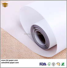 white Wax Coated Paper