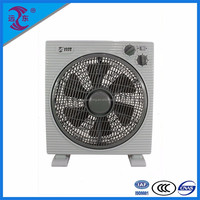 Durable copper motor 12 electric box fan with timer