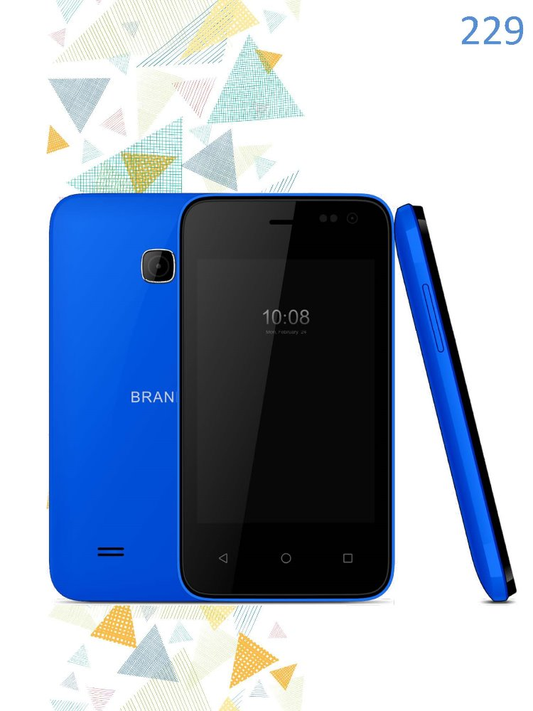 OEM low cost 3.5 inch phone 1200mAh battery power 8GB+1GB memory unlocked dual core Android 3g smart phone 229M