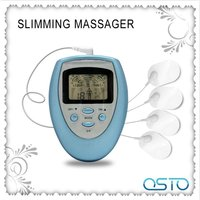 Low frequency mini digital tens pulse body massager AST-108A