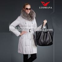 2014 White Snow Sweet Lady Winter Collection Coat