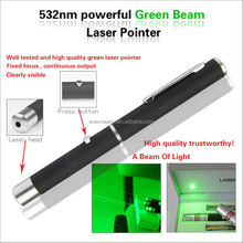 Top Quality manufacturer Powerful 532nm Green star Laser pointer
