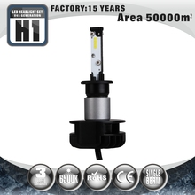 Tuff Plus super bright 6000K auto car accessory LED headlight bulb H1 LED conversion kit