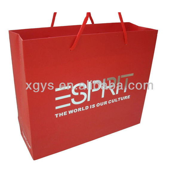 High Quality Paper Bag Printing Paper Gift Bag For Famous Brand Garments