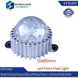 High quality 85MM Mini Single Led Lights, Disco light led pixel lighting 3W SMD5050