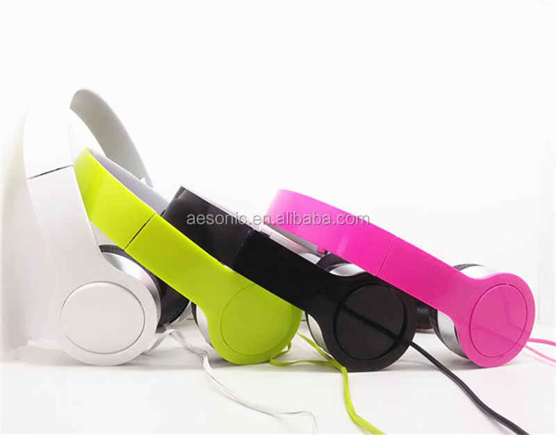 Hot Selling Mobile And Computer Accessories Cheap Colorful Headphones For Laptops Ipod