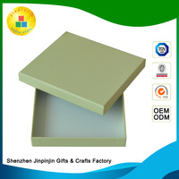 new arrival Stamping aseptic kraft chocolate gift packaging box