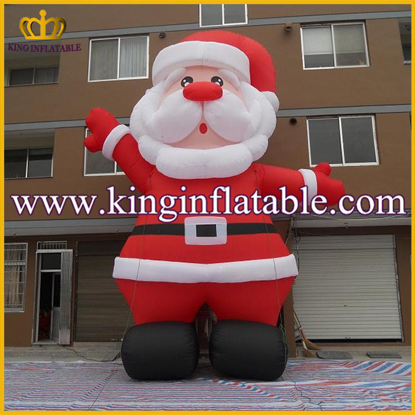 Outdoor 20ft Yard Giant Inflatable Santa Claus, Inflatable Christmas Father