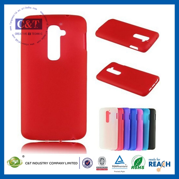 C&T Hole sale silicone rubber soft case for lg optimus g2 f320
