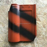 top grade new double color roman roof tiles for house roofing