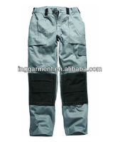 Personalized Twill Cargo Pants With Kneepad