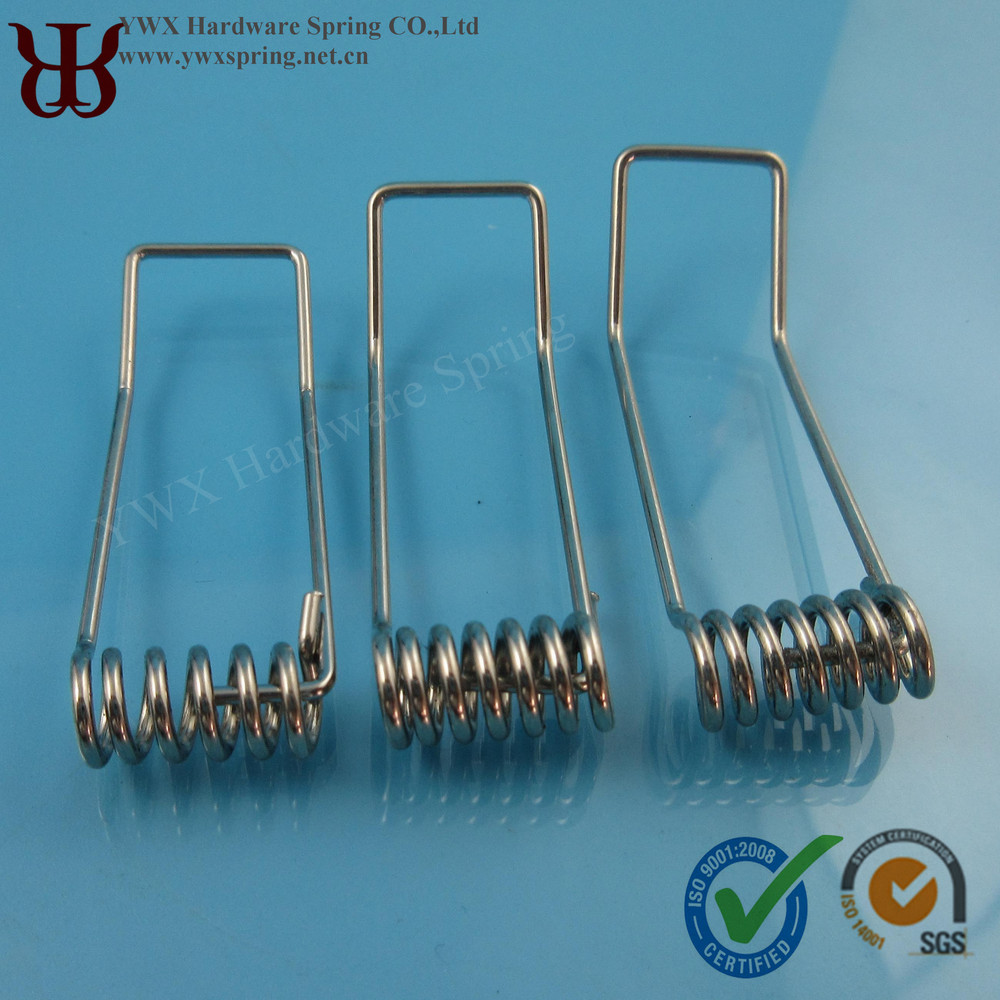 Manufacture Strength Custom OEM Zinc Plating Stianless Steel ROSH 9001 Certification Spring Clip For Downlight