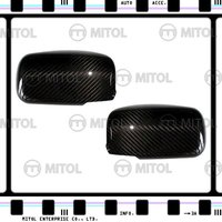 For MITSUBISHI EVO 7,8,9 Carbon Fiber Car Mirror Cover Side Mirror Cover