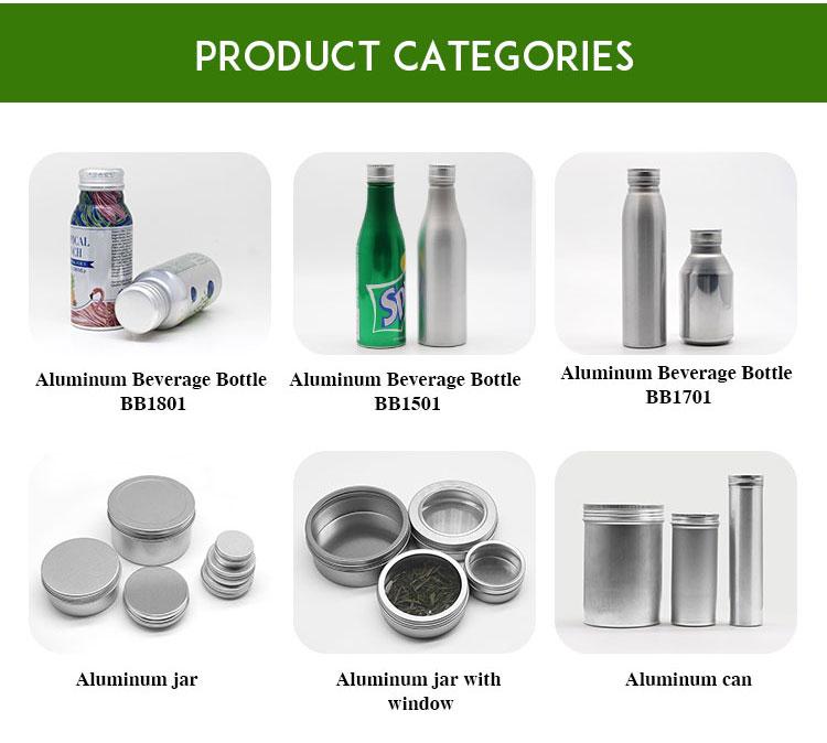 Personalizado De Alumínio pequeno 8 oz oz 12 16 oz 300 ml suco de frutas garrafa de embalagens de bebidas