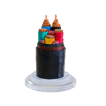 Durable and stable XLPE Insulated PVC Sheathed Copper / Aluminum Cores Electric Wire Power Cables
