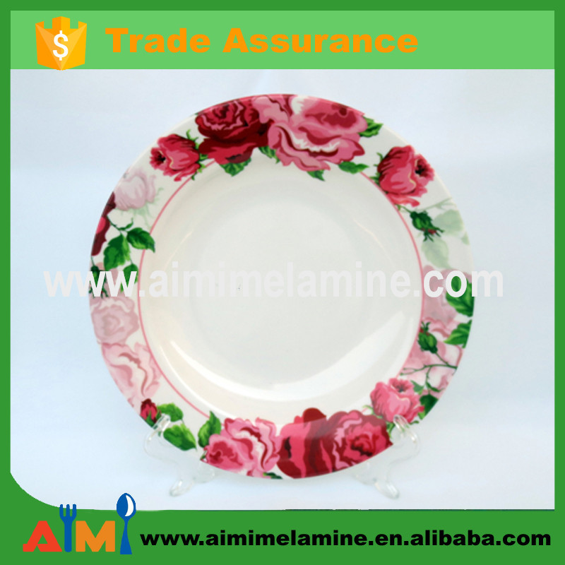 Professional processing custom melamine plate, fruit plate
