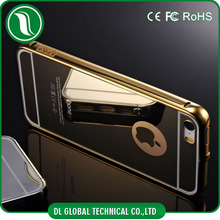 new products 2015 Gold Silver Black Royal Luxury Mirror Case for iPhone 5 Metal Bumper Mirror Case for iPhone 5 iphone 5s