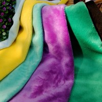 Hot Sell Polyester Minky Fabric Crushed Velvet For Home Textile