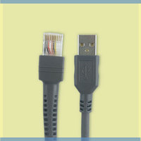 USB Cable 7ft 2M for Symbol Barcode Scanner LS1203 LS2208 LS4208