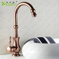 Luxury Two Spunts Faucet Mixer Tap Antique Brass the kitchen faucet,faucet kitchen