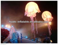 Jellyfish shape advertising inflatable lighting led balloon