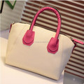 Promotional wholesale women cheap leather tote handbag , China bag manufacture