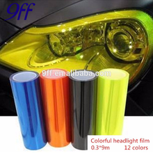 Best factory price Car Headlight Tint Vinyl car wrap film with glitter 0.3*9M