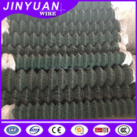 PVC-coated wire chain link fence low price for sale