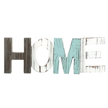 Wood HOME Decorative Sign Standing Cutout arts and crafts letters