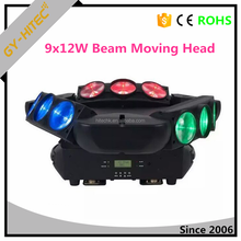 DJ bar led moving head spider light 9x12W RGBW 4-in-1 led beam moving head light