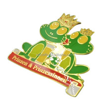 Wholesale new product Cute frog souvenir badge