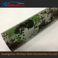 good quality with Air free white camouflage car vinyl film