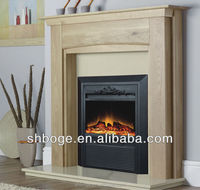 CE approved good quality smokeless electric fireplace