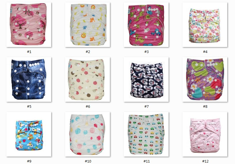 AIO Size Washable Reusable Pocket Type Baby Cloth Diaper China Wholesaler
