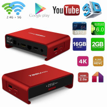 Hot selling T95U pro amlogic s912 octa core andorid 6.0 tv box 2gb 16gb dual wifi ott tv box user manual