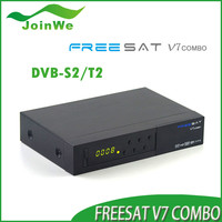 2016 New year Freesat V7 Combo Dvb-s2+t2 Mpeg4 Full 1080p Hd Satellite Receiver Iptv Decoder