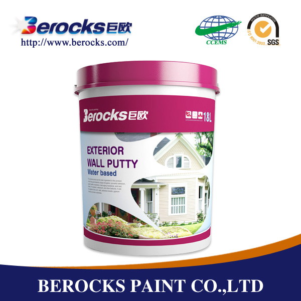 Liquid Acrylic Building Coating White cement based wall putty