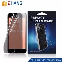 Newest factory manufacturer privacy screen protector for samsung s7 edge