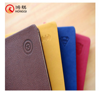 L053-A Stationery product black leather book cover,leather bound book cover,leather bound blank book