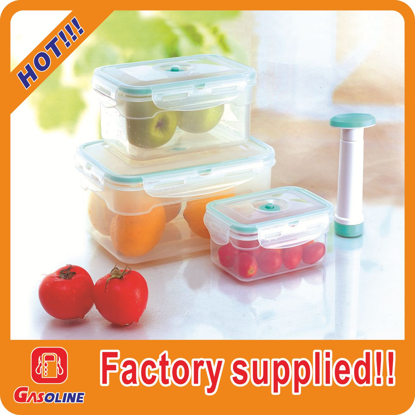 Best quality hot sell vacuum food storage container pump