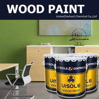 Water based acrylic spray wood paint for wooden furniture