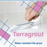 Terraco Terragrout - Colored Non Shrink Interior and Exterior Tile Grout