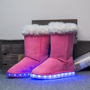 Factory Wholesale High Quality Led Kids Shoes Winter Led Boots For Kids
