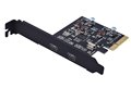 PCI E Express 4X to 2-port USB3.1 Type C Expansion Card Host Card no need extral Power