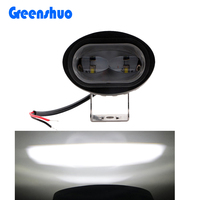New Super brigh 6D 20w car led tuning light Motorcycle 12 volt offroad led work light