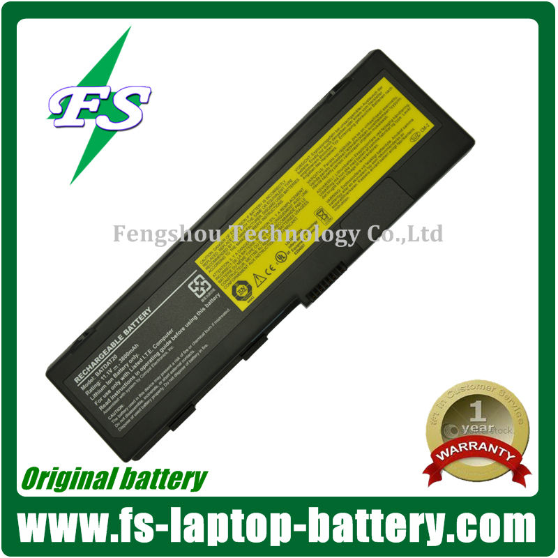 External Laptop Battery for LENOVO BATDAT20 A500 E600 E660 E680