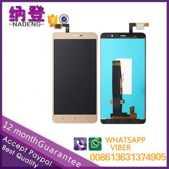 for XiaoMi Redmi note 3 lcd touch glass screen in alibaba