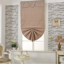 roman blind curtain design with durable kit and mechanism